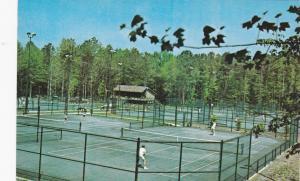 PINE MOUNTAIN, Georgia, 40-60's; Callaway Gardens Tennis Club