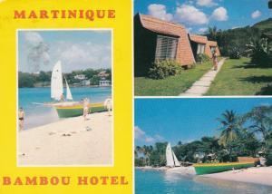 MARTINIQUE , Bambou Hotel, Trois Ilets , 1986