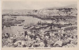 Panorama Da Castelletto, GENOVA (Liguria), Italy, 1910-1920s