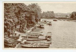 CHESHIRE       CHESTER    RIVER  DEE  frm SUSPENSION  BRIDGE       1918/30s