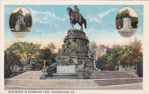Monuments In Fairmount Park Philadelphia Pennsylvania