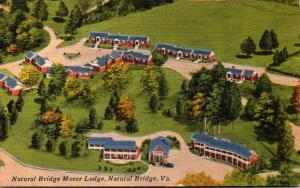 Virginia Natural Bridge Aerial View Natural Bridge Motor Lodge