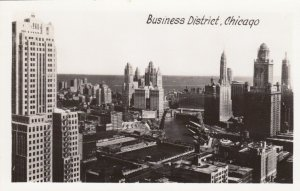 RP, CHICAGO , Illinois, 1930-1950s; Business District