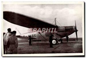 Postcard Modern Jet Aviation Aviation Istres The Joseph Le Brix Bleriot Plane...