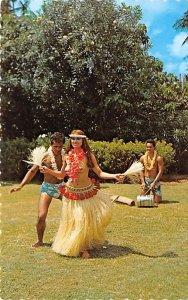 Tahitian Dancer Tahiti Unused