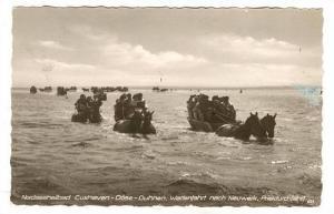 RP: Nordseeheilbad Cuxhaven, Germany, PU-1950 Dose-Duhnen. Wattenfahrt nach N...