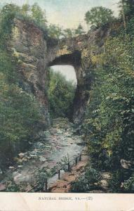 One of the World's Wonders - Natural Bridge of Virginia - DB