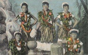 Dancing Girls , Hawaii , 1900-10s