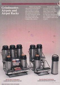 Grindmaster Airport Coffee Pots & Racks , 1994