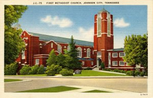 TN - Johnson City. First Methodist Church