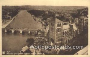Huv, Belgium, België, la Belgique, Belgien Panorama pris du Fort au Dessus d...