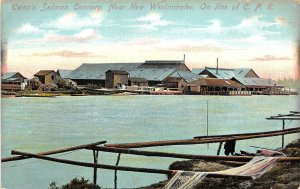 br105603 ewens salmon cannery new westminster canada cpr fishing