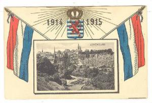 Panorama, Flags, Luxembourg, 1914-1915