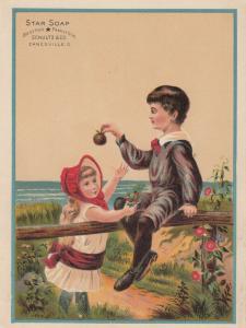 TC: Star Soap , 1900-10s; Schultz & Co. , ZANESVILLE, Ohio # 5