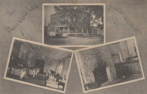 TC: MANCHESTER DEPOT , Vermont, 1900s ; The Battenkill Inn