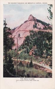Colorado Denver The Souvenir Publishing And Mercantile Company The Devils Slide