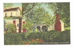 Birthplace Of Helen Keller, Tuscumbia, Alabama, 30-40s