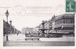 France Bordeaux Allees de Tourny 1911