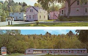 North West Brewer Maine Ebb Tide Motel Multiview Vintage Postcard K59781