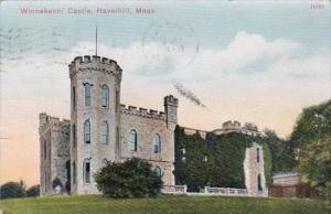 Massachusetts Haverhill Winnekenni Castle 1909