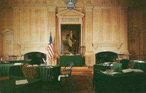 10694 Assembly Room, Independence Hall, Philadelphia, Pennsylvania 1956