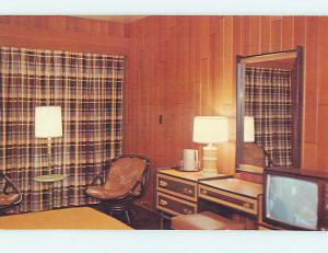Pre-1980 TENT TRAILER CAMPING AT DEER CREEK STATE PARK Lucas Kentucky KY J6836