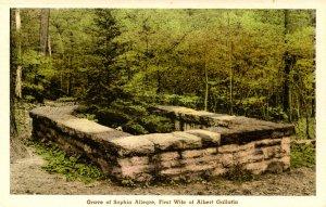 PA - New Geneva. Friendship Hill, Grave of Sophia Allegre