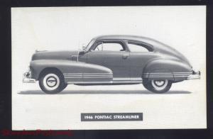1946 PONTIAC CHEROKEE STORM LAKE IOWA CAR DEALER ADVERTISING CARS POSTCARD