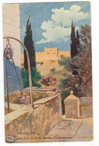 JERUSALEM, The Golden gate from the Garden of Gethsemane, 00-10s