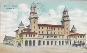 Georgia Atlanta Terminal Station 1908