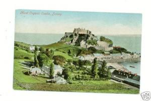 1906 Jersey Channel Islands Postcard Cover to Guernsey