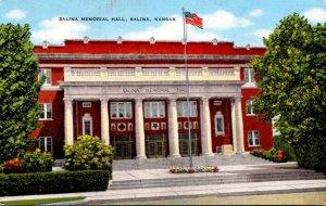 Kansas Salina Memorial Hall