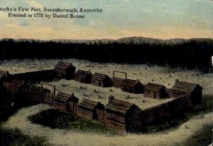 KY's First Fort - Boonsborough