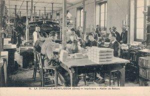 France La Chapelle Montligeon Orne Imprimerie Atelier de Reliure 03.28