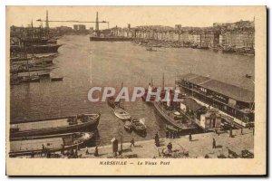 Old Postcard Marseille Vieux Port