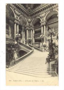 Interior, L'Escalier De l'Opera, Paris, France, 1900-1910s