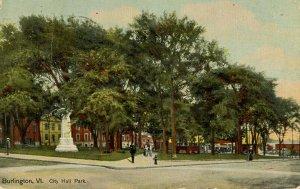 VT - Burlington. City Hall Park