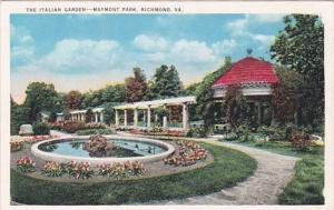 Virginia Richmond The Italian Garden In Maymont Park