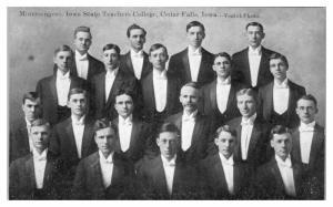 Minnesingers, Iowa State Teachers College, Cedar Falls, IA Postcard *5A