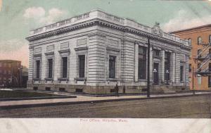 HOLYOKE, Massachusetts; Post Office, PU-1909