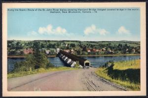 Hartland Bridge,Hartland,New Brunswick,Canada