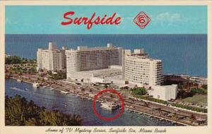 Florida Miami Beach Surfside Six Home Of The TV Mystery Series
