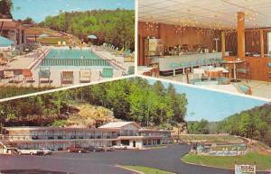 Parkers Lake Kentucky Holiday Motor Lodge Restaurant Vintage Postcard J59206