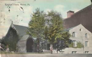 WARREN , Pennsylvania, PU-1909; Episcopal Church