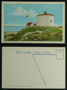 Martello tower Saint John NB circa 50s