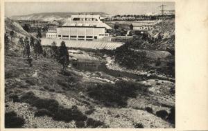 israel, TEL-OR, Ruttenberg Power Station (1930s) Judaica Postcard