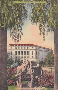 US Post Office, San Antonio, Texas, 1948 PU