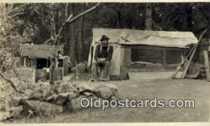 Gold Mining, Grass Valley Calif. USA Real Photo Postcard Postcards  Gold Mini...