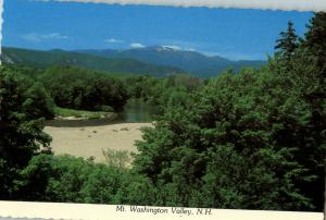 Mt Washington Valley New Hampshire as seen from Conway New Hampshire