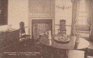 New Jersey Trenton Dining Room William Trent House Artvue